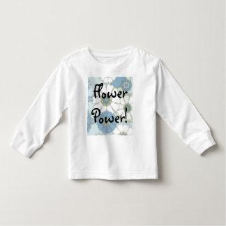 ¡Flower power! Camisetas