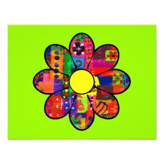 Flower power de los años 60 comunicado personal