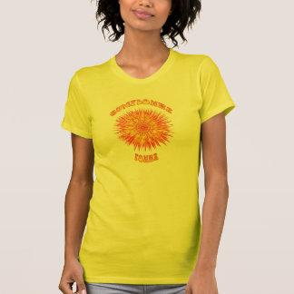 Flower power de Sun Camisetas