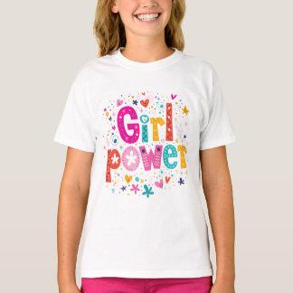 ¡Flower power del chica! por los mini hermanos Camiseta