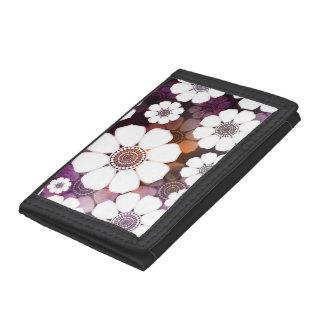 Flower power púrpura enrrollado