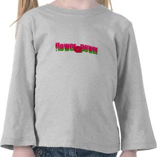 flowerapplication, flower power, flower power camisetas