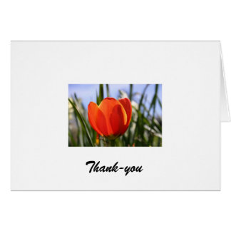 flowerclose_001, de agradecimiento tarjeta de felicitación