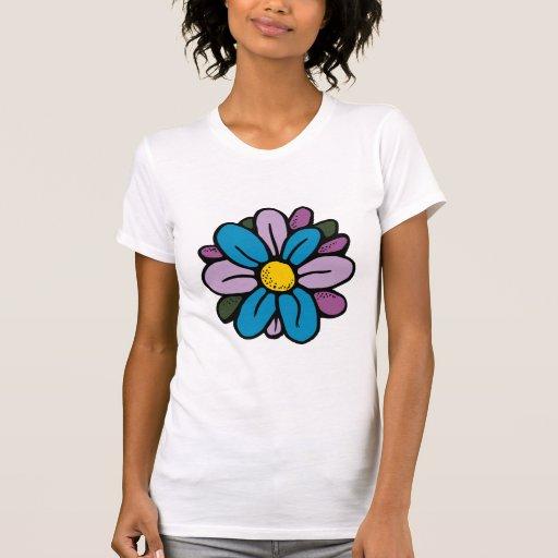 FlowerRound2 Camiseta