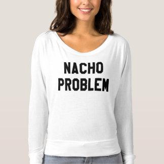 Flowy de las mujeres del problema del Nacho de la Camisetas