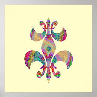 Fluer-de-Lis:  Concepto artístico por Naveen Posters