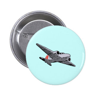 flugzeug airplane pin