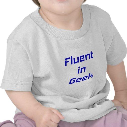 Fluido en friki camisetas