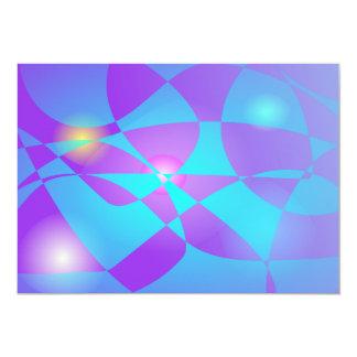 Fluorescente Invitación 12,7 X 17,8 Cm