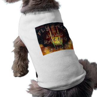 Flyball Flamz: ¡Fricción que compite con para el Camiseta Sin Mangas Para Perro