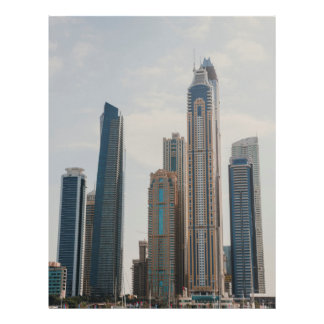 Flyer Arquitectura del puerto deportivo de Dubai