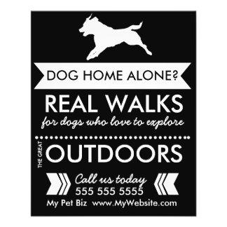 Aviador del caminante del perro - Personalizable