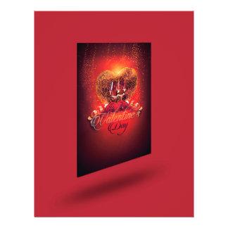 Flyer Aviador del fiesta de las tarjetas del día de San
