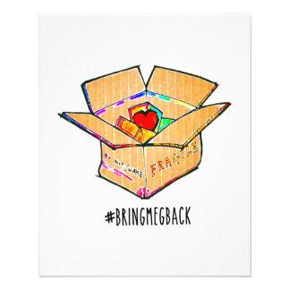 Flyer #bringmegbackflyer