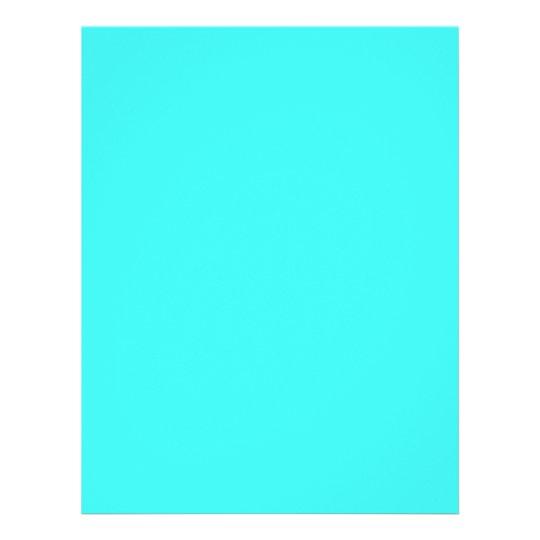 7dbc1f075509 Flyer Color azul de la turquesa de la aguamarina