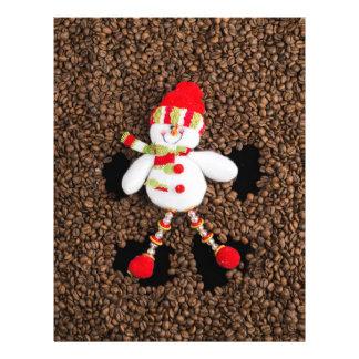 Flyer Decoración del muñeco de nieve del navidad