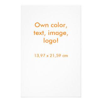 Flyer Del aviador blanco uni - poseer color