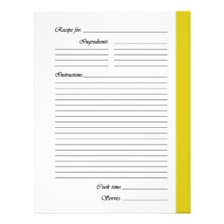 Flyer El amarillo 2 echó a un lado las páginas de la
