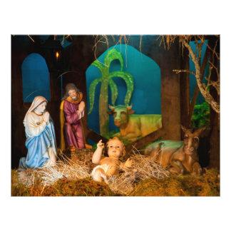 Flyer Escena de la natividad