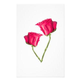 Flyer Foto de los rosas rojos
