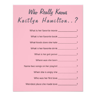 Flyer Humor de la madre del juego de la pregunta de la