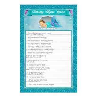 Flyer Juego #130 de la poesía infantil de la fiesta de