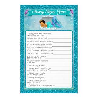 Flyer Juego #136 de la poesía infantil de la fiesta de