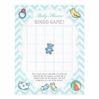 Flyer Juego lindo del bingo de la fiesta de bienvenida