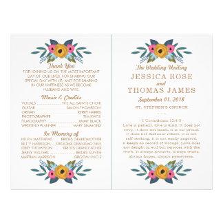 Flyer La colección blanca del boda de la guirnalda