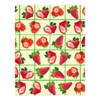Flyer Modelo de las fresas