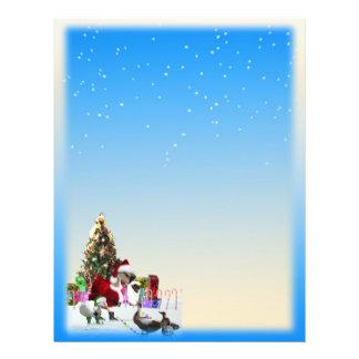Flyer Nieve del navidad bilateral