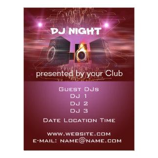 Flyer Noche de DJ