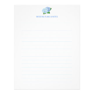 Flyer Páginas azules del planeamiento del boda del