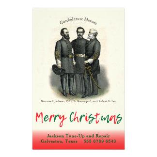Flyer Plantilla de encargo auto de la tienda del navidad