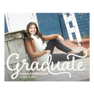 Flyer Postal de la graduación