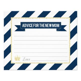 Flyer Príncipe Advice del oro de la marina de guerra