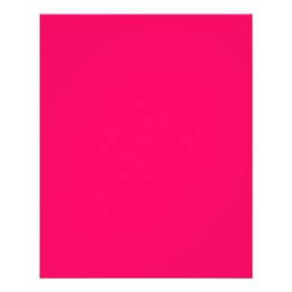 Flyer Rosa Rosado-Tropical Rosado-Rosa-Caliente de