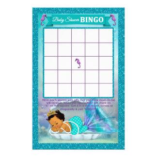 Flyer Tarjeta de juego del bingo de la fiesta de