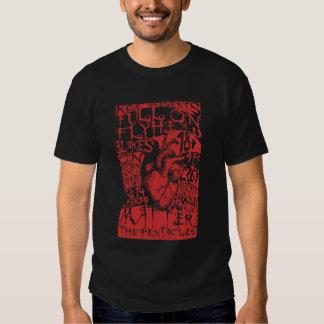 Flyhead en la camiseta del concierto de Blakes