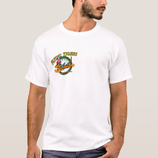 Flying Tigers p-40 Warhawk Camiseta