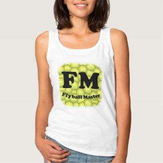 FM, amo 5.000 de Flyball Camiseta Con Tirantes