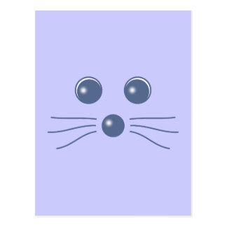 Foca cara seal face postal