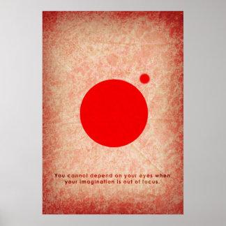 foco de la imaginación póster