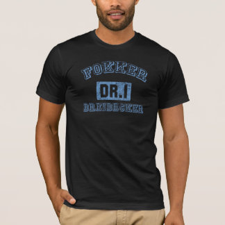 Fokker Dreidecker - AZUL Camiseta