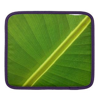 Folha de bananeira bolsa de iPad