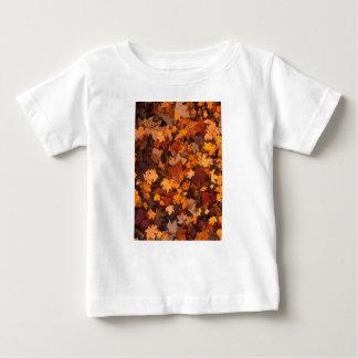 Follaje de otoño camiseta de bebé