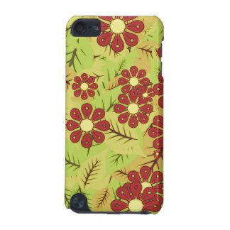 Follaje y flores carcasa para iPod touch 5G