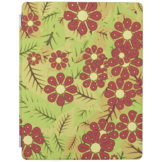 Follaje y flores cubierta de iPad