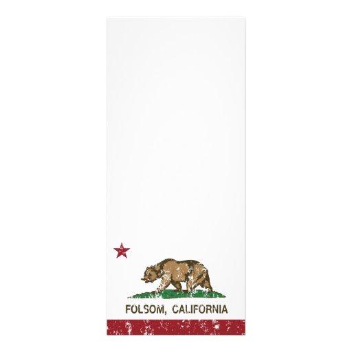 folsom de la bandera de California apenado Comunicados
