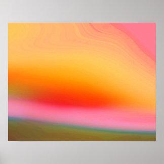 Fondo abstracto colorido póster